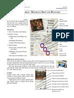 Arkham Horror (Reference Sheet) 090701