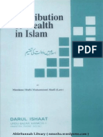 DistributionOfWealthInIslamByShaykhMuftiMuhammadShafiUsmanir.a..pdf