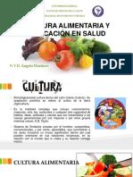 Cultura Alimentaria y Educación en Salud