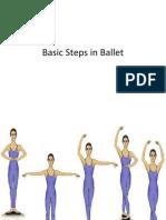 Basic Steps in Ballet
