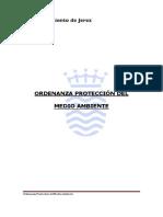 Ordenanza Proteccion Medio Ambiente Ayto Jerez