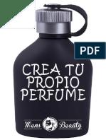 eBook Como Crear Un Perfume Casero