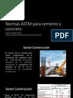 Campos CR Normas ASTM Para Cemento y Concreto (CEMENTOS)