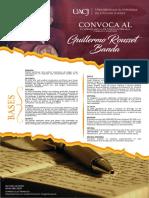 2018, XV Premio Rousset Banda (Ensayo Político)