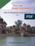 Dnevnik Tamale Krsne Goswamija 1 (TKG)