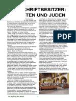 Die Schriftbesitzer Christen Und Juden