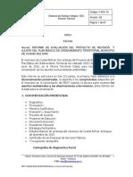 Informe de Correcciones Al Pbot