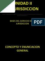 Bases Del Ejercicio de La Jurisdiccion - Unidad IV