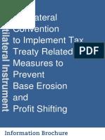 Multilateral Instrument BEPS Tax Treaty Information Brochure