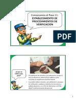 Haccp Paso 11