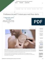 Problemas de Pele_ 5 Sinais Para Você Ficar Alerta _ HypeScience
