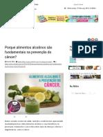 Porque Alimentos Alcalinos São Fundamentais Na Prevenção Do Câncer