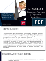 Guia Modulo 1 - Archivistica