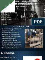 Plan de Mantenimiento Sistema de Refrigeracion Con Amoniaco