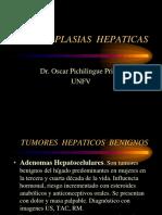 NEOPLASIAS HEPATICAS-2016
