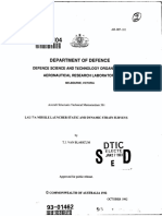 Lau-7a Missile Launcher Static and Dynamic Strain Surveys