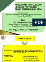 Profil Desa Dalam Mendukung Perencanaan Pembangunan Desa