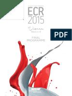 ECR 2015 Final Programme