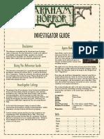 ArkhamHorror Investigator Guide Color v2.4