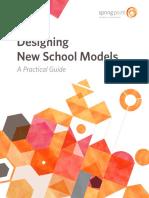 Designing New School Models Springpoint 102016