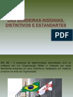 INSTRUÇÃO MILITAR BÁSICA - RCONT - CAP VI  BANDEIRAS-INSÍGNIAS