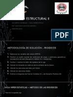 ANALISIS ESTRUCTURAL II Conceptos Generales Vigas Hiperestáticas Metodo de Las Rigideces