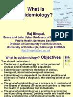 Epidemiology A