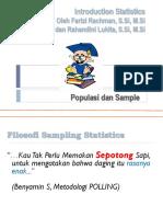 1. Statistics Introduction