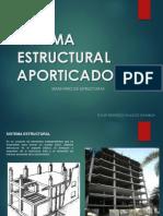 Sistema Estructural Aporticado