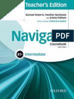 (completed) Navigate Intermediate B1+ Coursebook (Teacher's Edition)
