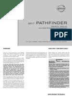 2017 Pathfinder Owner Manual