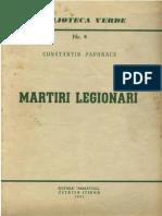 Constantin Papanace - Martiri Legionari - Eed. Armatolii 1952