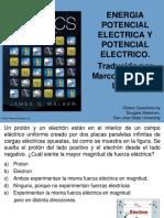 Energía y Potencial Electrico