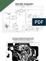 Soldering Station Hakko 936 - Instruction and Schematics