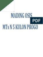 Mading Osis