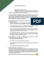 Cedulario Segunda Prueba Derecho Administrativo 1
