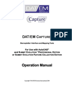 DATEM Capture for AutoCAD