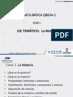 Clase 2 Propiedades Clasificacion Materia