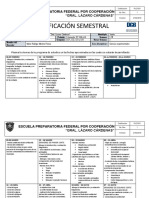 Dosificación Semestral