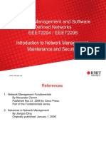 Lecture Introduction Network Management Maintenance Security Part 1