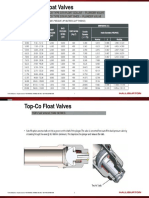 Top-Co Float Valves