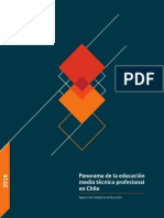 Panorama Ed TP en Chile