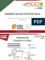 Presentación 1 - Energía Solar Fotovoltaica - Aplicaciones y Casos de Éx...