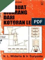 Membuat Bioarang Dari Kotoran Lembu (L. Widarto & Suryanta)