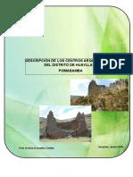 Descripcion de Los Centros Arqueologicos Del Distrito de Huayllan-pombamba