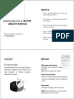 Formas Farmaceuticas de Liberacion Modificada