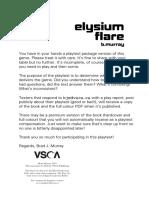Elysium Flare Playtest v9