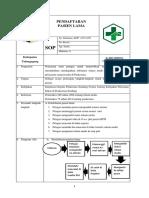 7.1.1.1 SOP Pendaftaran PX LAMA
