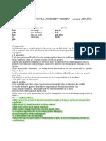 Artaud Antonin - Pour en Finir Avec Le Jugement de Dieu