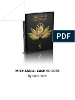 Mechanical Cash Builder